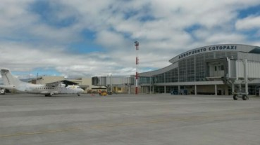 The Cotopaxi Airport near Latacunga is Ecuador's second largest air freight terminal.