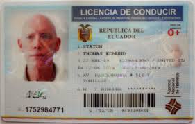 What it's all about: the Ecuadorian driver's license.