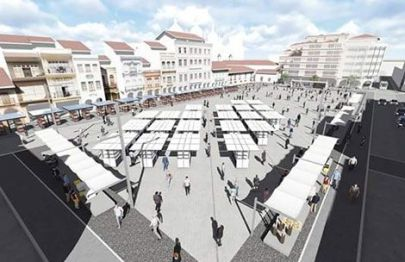 The new design for San Francisco Square was developed by the University of Cuenca faculty of architecture.