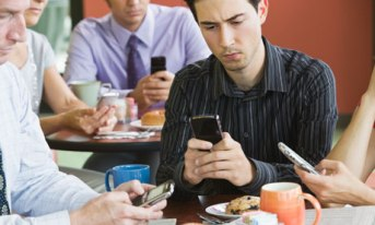 Cell phone owner check for messages 150 to 300 times a day.