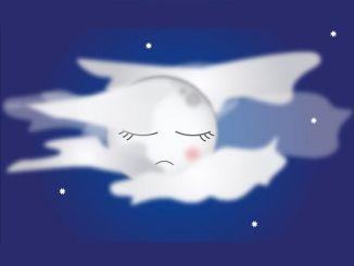 CUENTO DE LA LUNA. El lobo y la luna