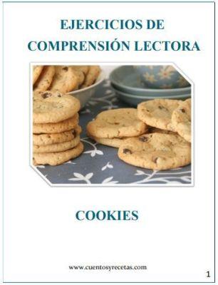 Comprensión lectora ejercicios: Cookies