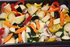 2.Verduras al horno