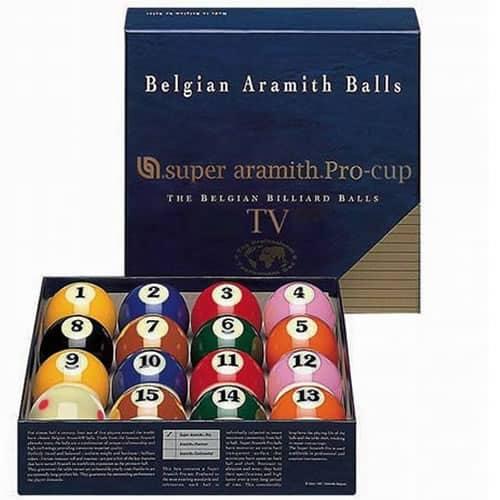 Super Aramith PRO-CUP 2¼ TV Set
