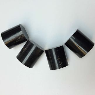 """Buffalo Horn Joints 1"""" long turned round-0"""