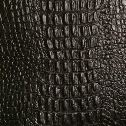 leather wrap black gator