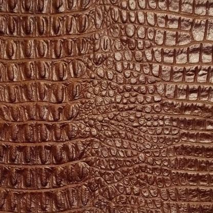 leather wrap medium brown gator