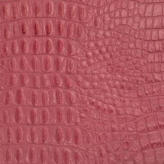 leather wrap pink gator
