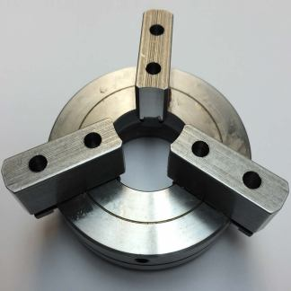 """Chuck - Self-Centering Three Jaw Deluxe Large 1.4"""" Bore Chuck-0"""