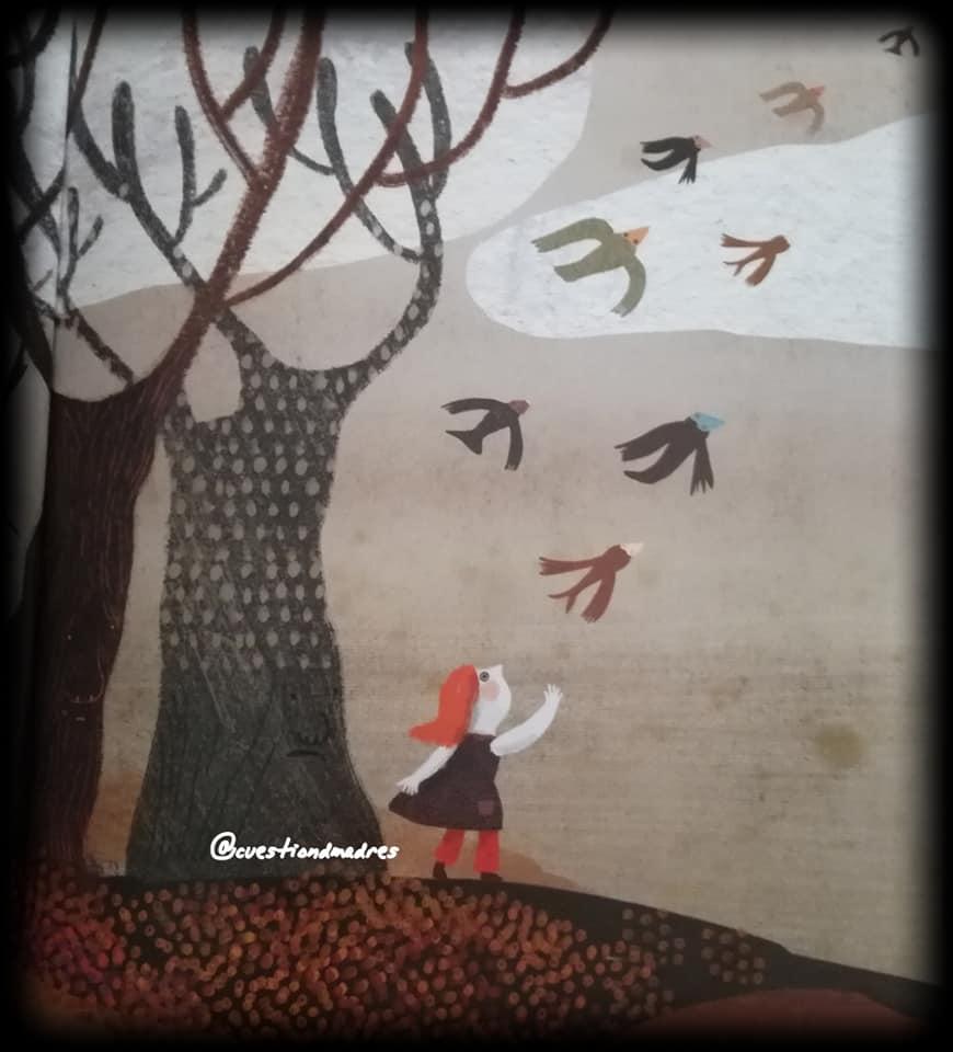 Llega el otoño y los pajaritos se empiezan a ir del bosque. La canción del bosque