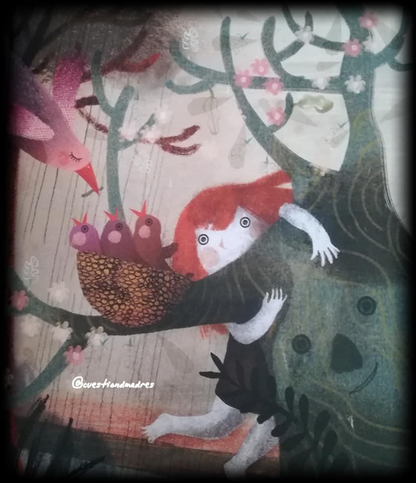 A la protagonista de La canción del bosque le encanta escuchar al bosque y sus habitantes cantar