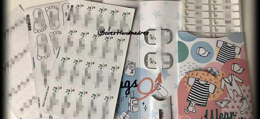 Pack de etiquetas personalizadas Stikets que sorteamos