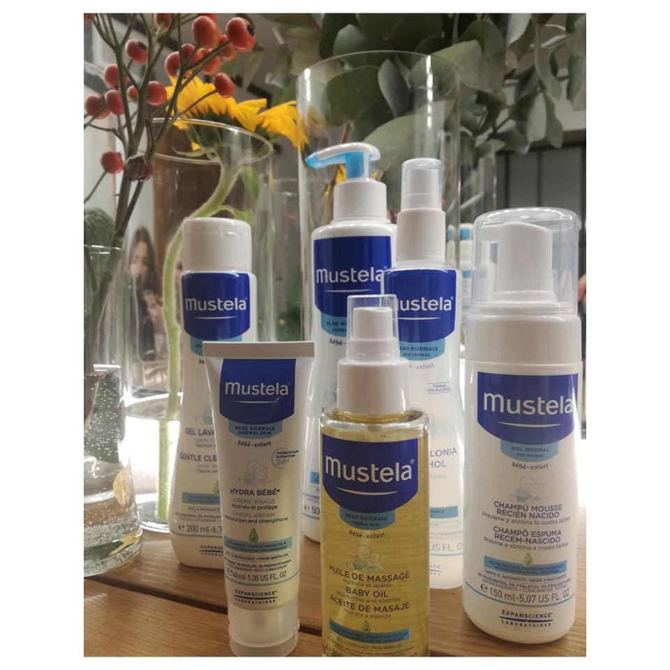 Compromisos de Mustela, gama hidratación