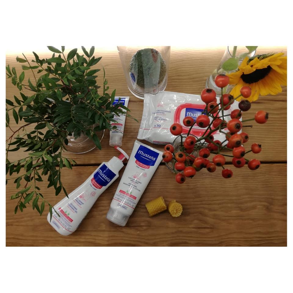 Compromisos de Mustela, gama para pieles muy sensibles
