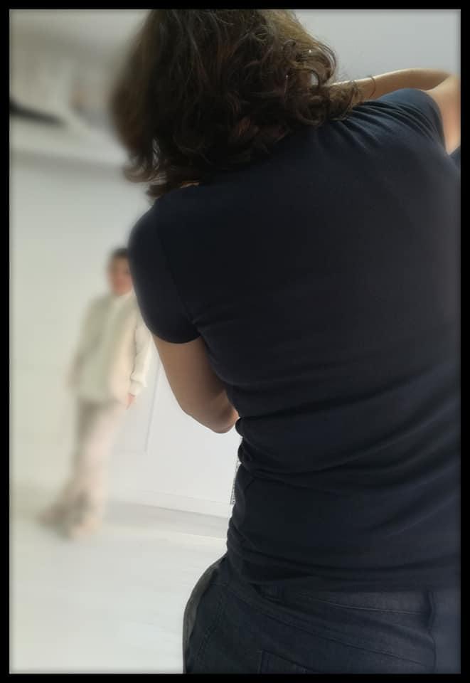 Fotos de Comunión con Belén Rincón en el estudio