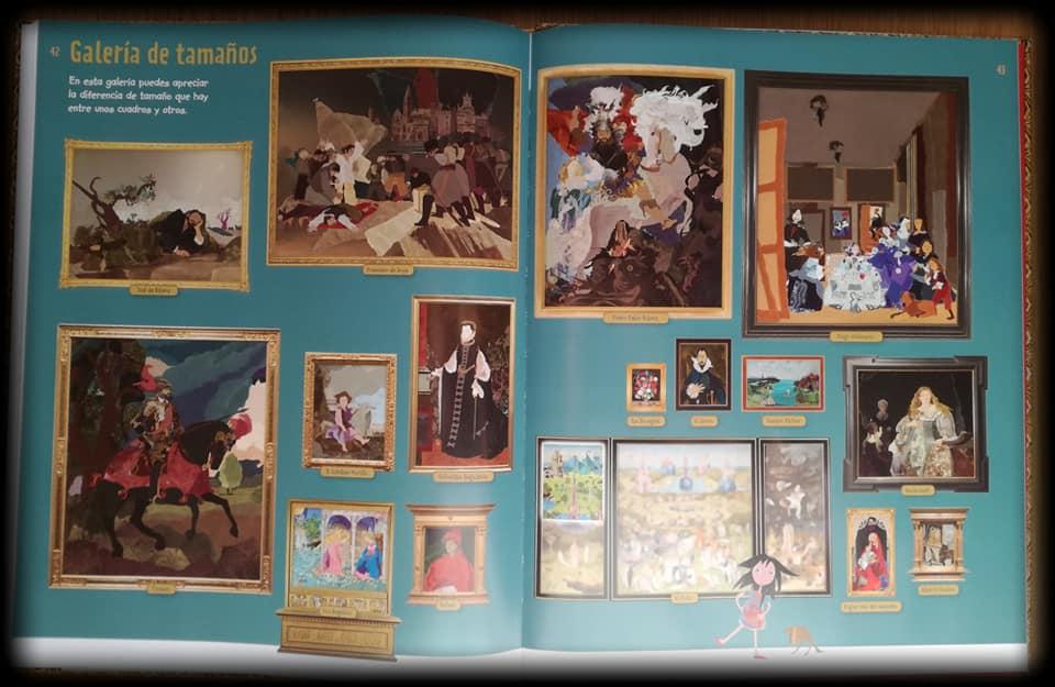 Galeria de los cuadros del Museo del Prado que aparecen en el libro