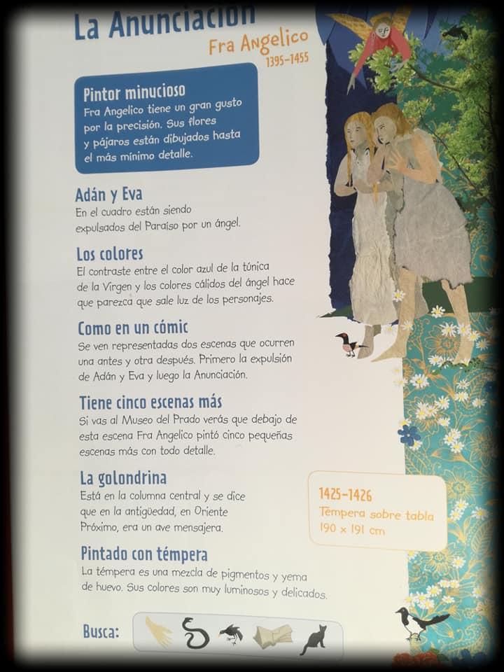 Toda la información, más un juego, que podéis encontrar en este álbum ilustrado sobre obras del Museo del Prado
