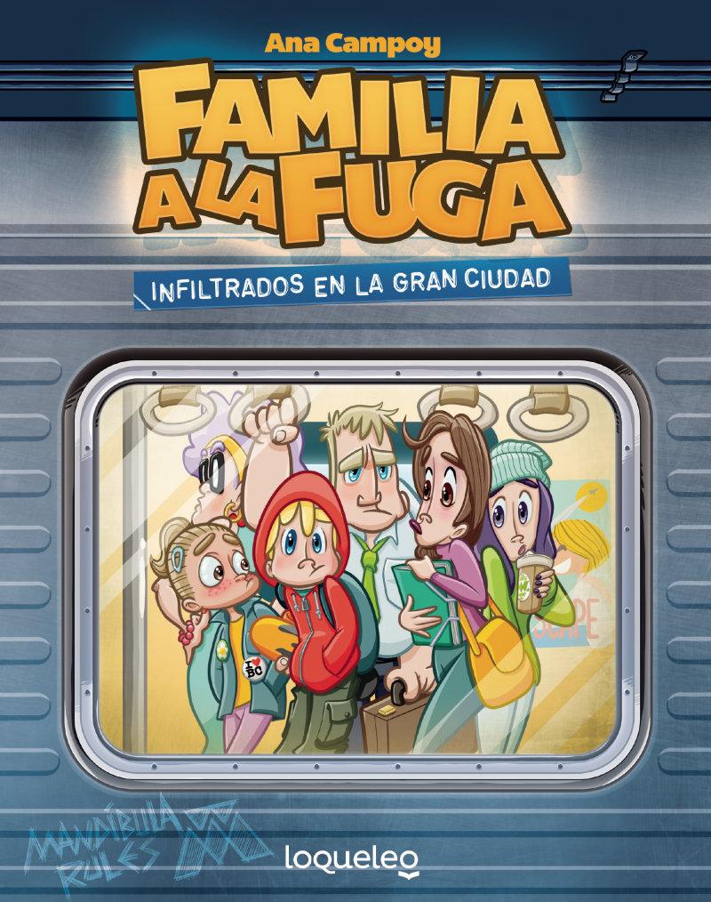 El segundo libro de Familia a la Fuga se coló en el Biblioteca de Comunión en el último momento