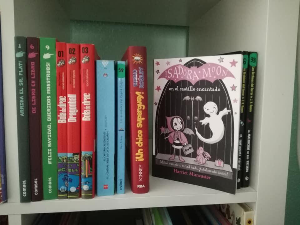 Isadora Moon, Dragonball, Agus y los monstruos otras de nuestras colecciones de libros infantiles