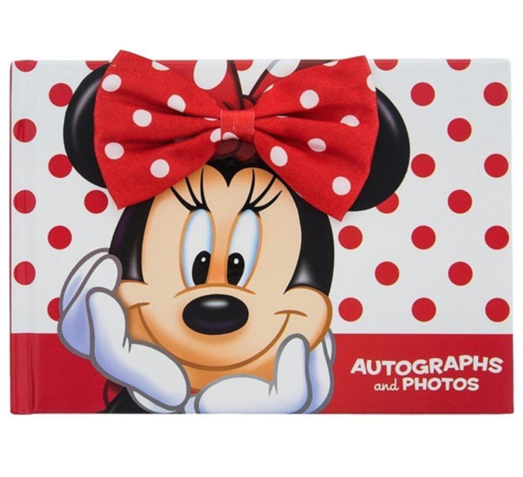Libreta de autógrafos de Amazon para las firmas de los personajes de Disneyland París
