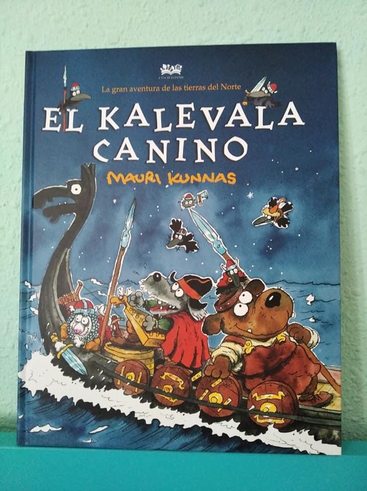 Portada del libro El Kalevala Canino