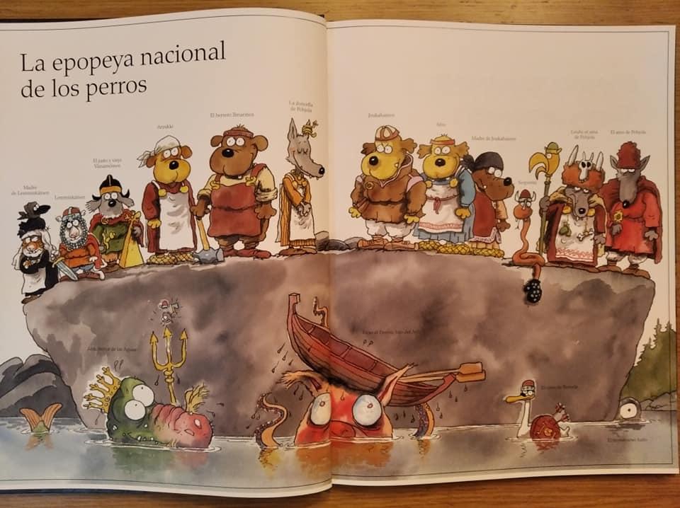 Todos los personajes de El Kalevala Canino