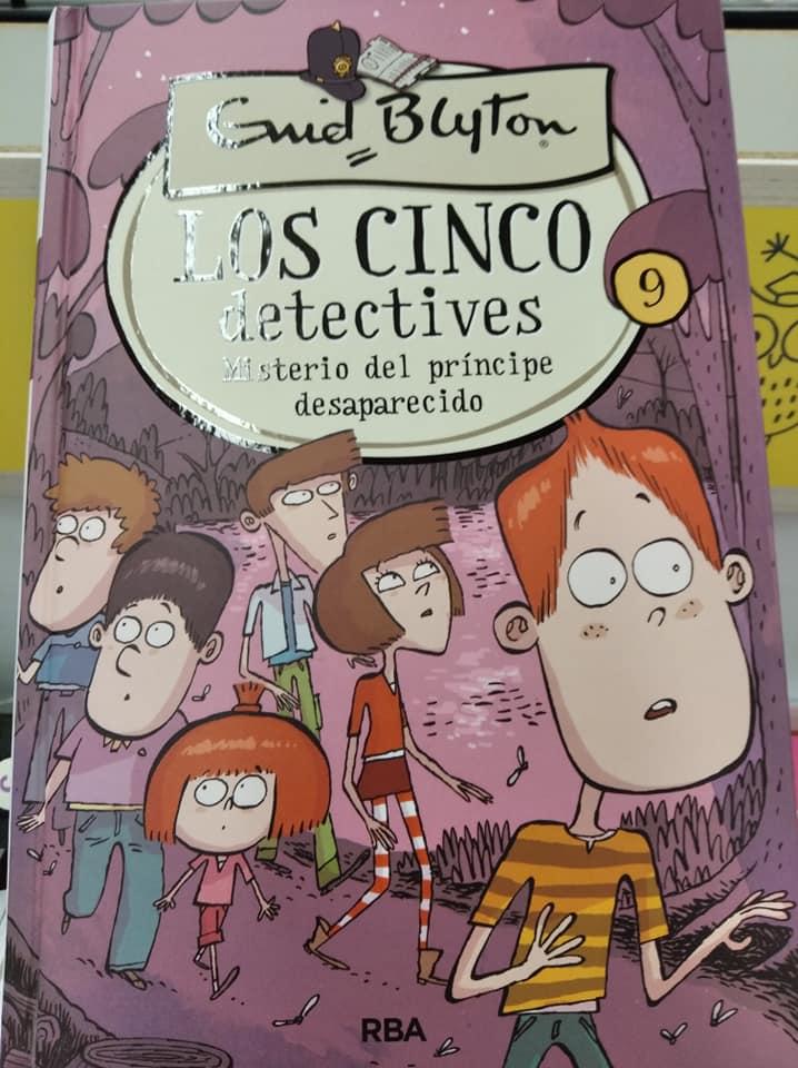 Dentro de las 4 colecciones de libros de mi infancia que han actualizado no podrían faltar Los Cinco