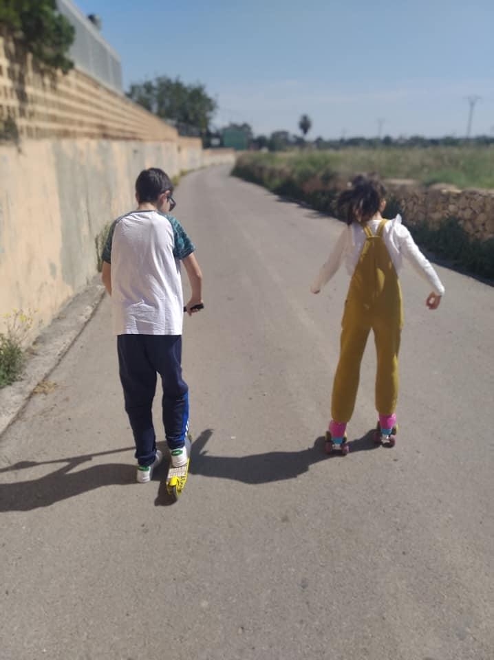 Durante nuestra salida nos movimos por sitios poco transitados por lo que apenas nos cruzamos con gente