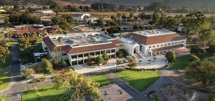 The Cuesta Library and Student Success Center as they are today, six decades later.