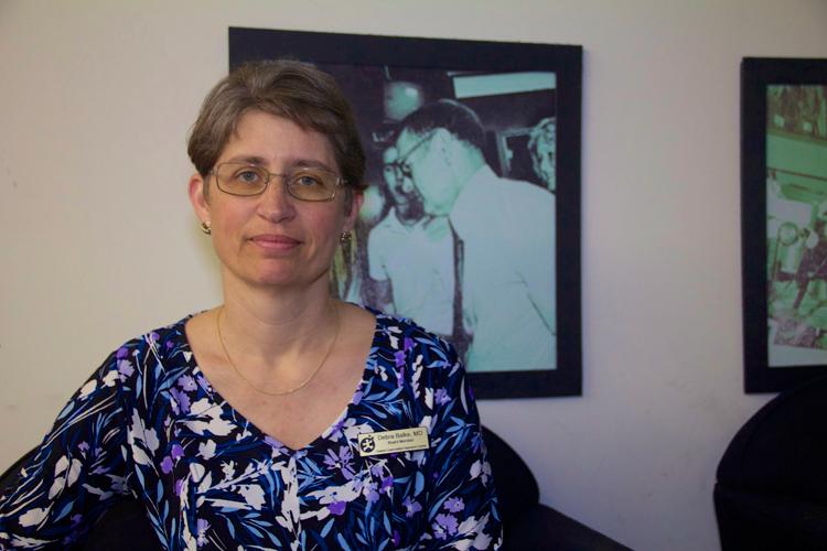 Dedra Balke, pediatric neurologist, Central Coast Autism Spectrum Center Co-founder & Board President and event member.