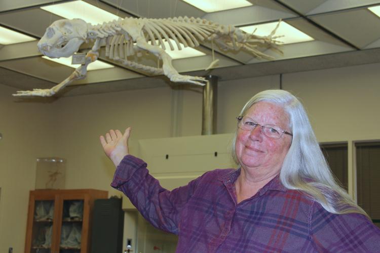 Nancy Mann, a biology professor at Cuesta College.