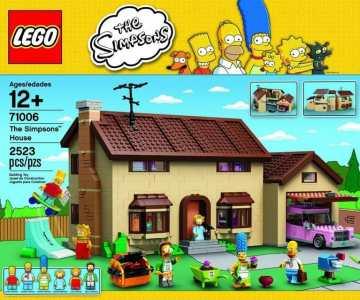 La Casa de los Simpsons en LEGO