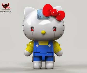 Hello Kitty Mech
