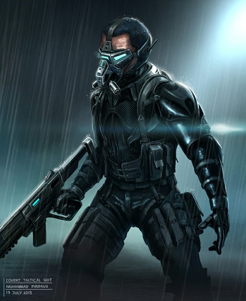 Covert Tactical Suit por Freakyfir