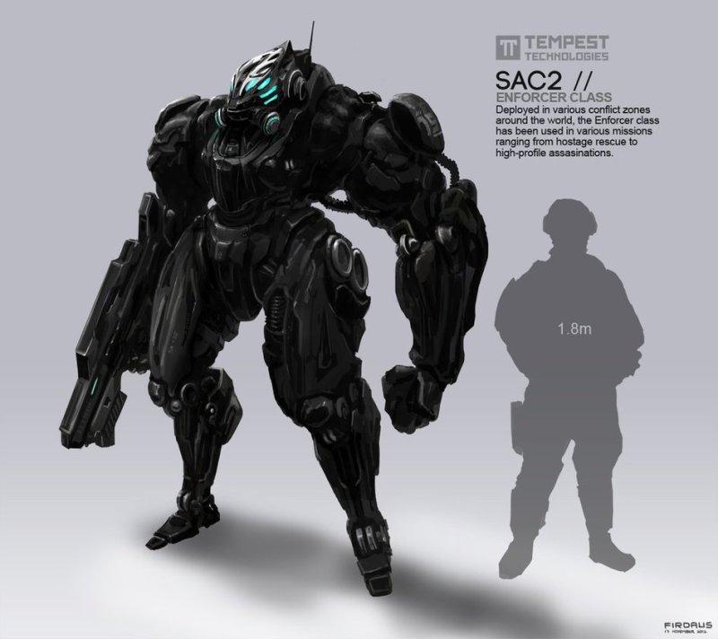 SAC2 Enforcer Class por Freakyfir