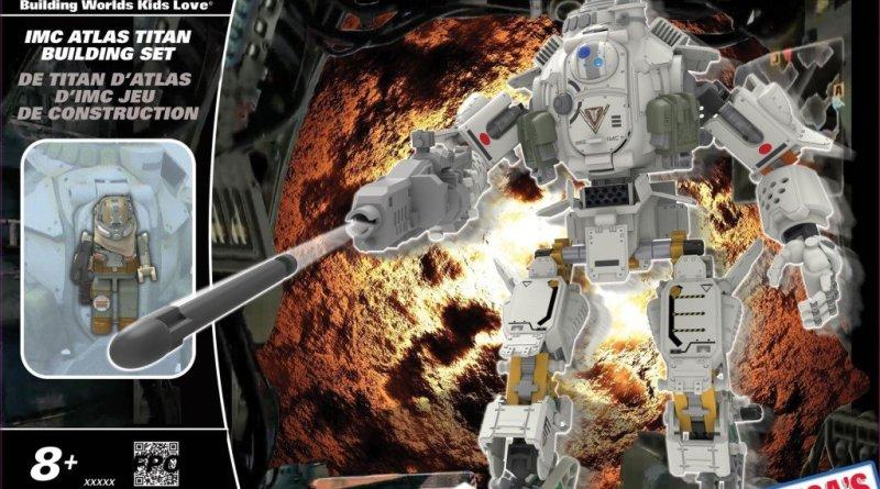 K'Nex Titanfall IMC Atlas Titan