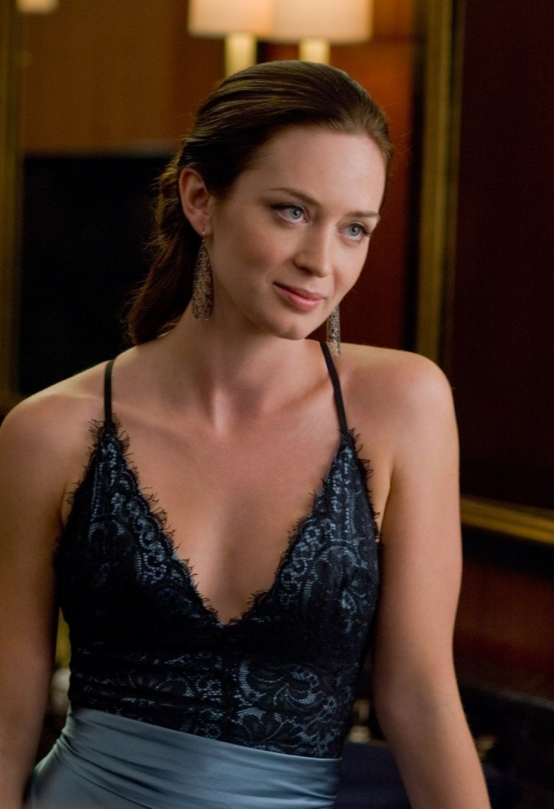 Emily Blunt in the Adjustment Bureau