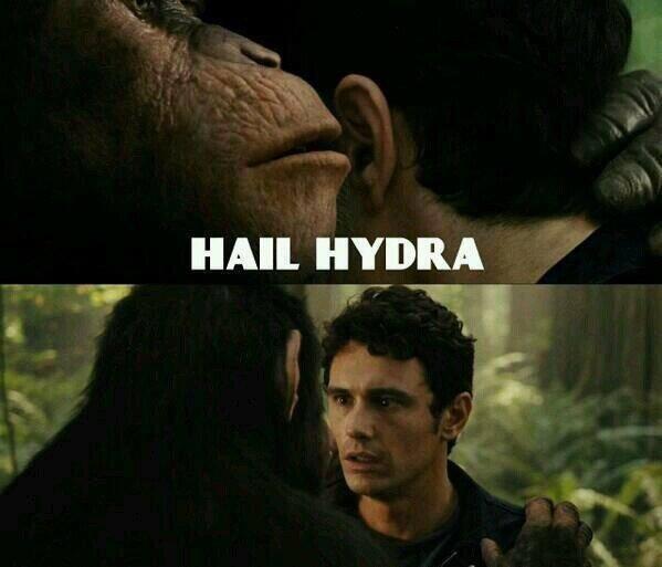 Hail Hydra Monkeys