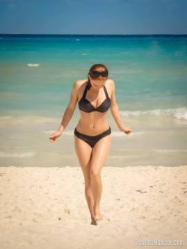 Scarlett Madison Bikini