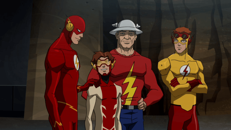 Young Justice Speeders