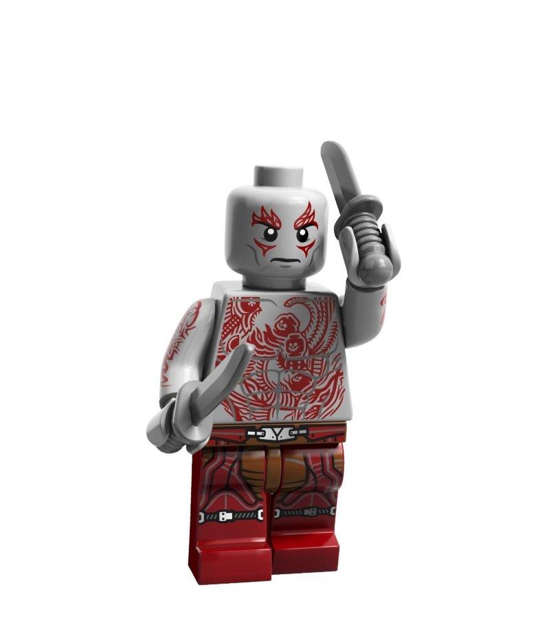 Drax LEGO Minifig