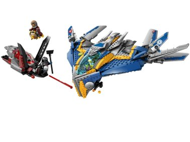 Guardians of the Galaxy LEGO Milano Spaceship 2