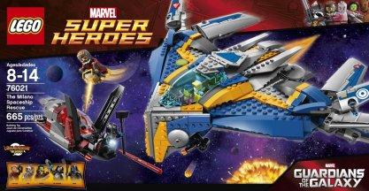Guardians of the Galaxy LEGO Milano Spaceship
