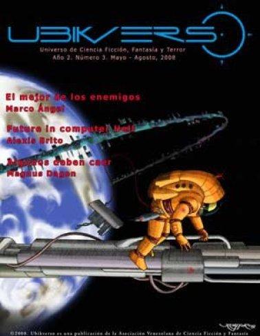 ProseRage Ciencia ficción y fantasía en Venezuela 014 Ubikverso numero 3