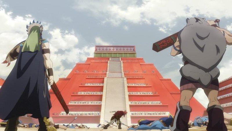 Rokka No Yuusha Architecture