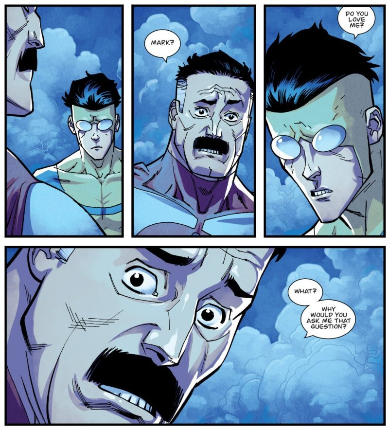 Invincible 124 Mark Nolan Moment 2