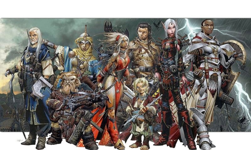 Personajes Pathfinder