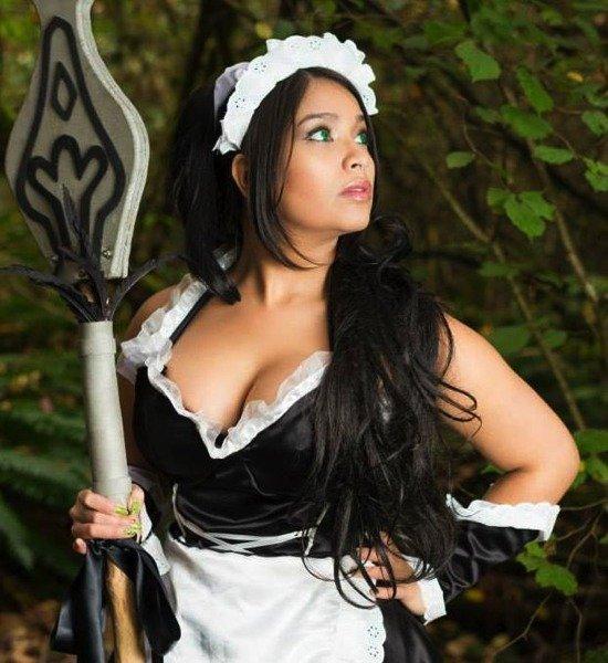 Heart Lockett como Maid Nidalee