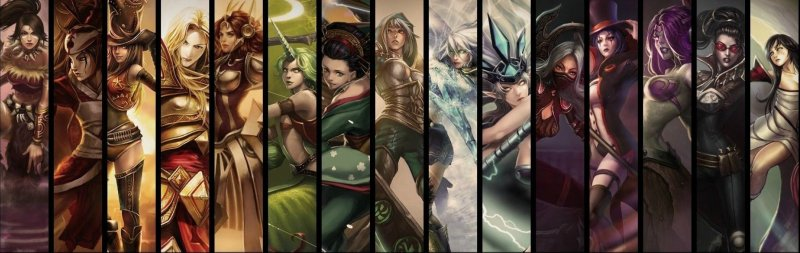 League of Legends Female Characters