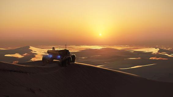 Homeworld Deserts of Kharak Concept Art